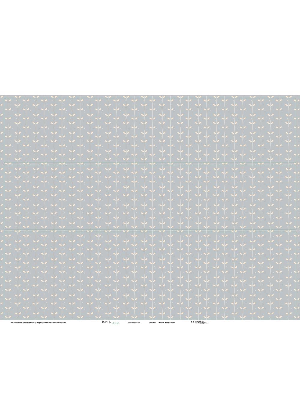 Ikea Hemnes Kommode Ährig eisblau Druckvorlage