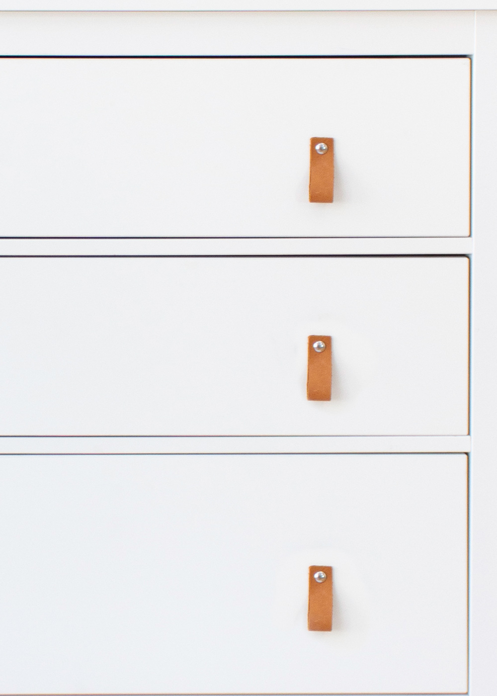 Ledergriffe Ikea Möbel Läderig Teilansicht Kommode