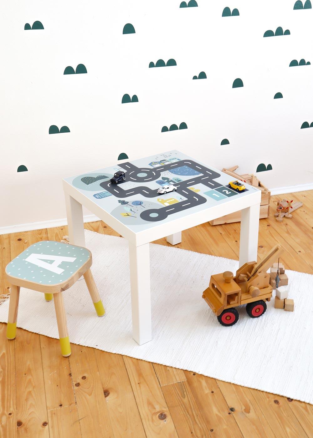 Ikea Lack Beistelltisch Smastraat Gesamtansicht Zimmer