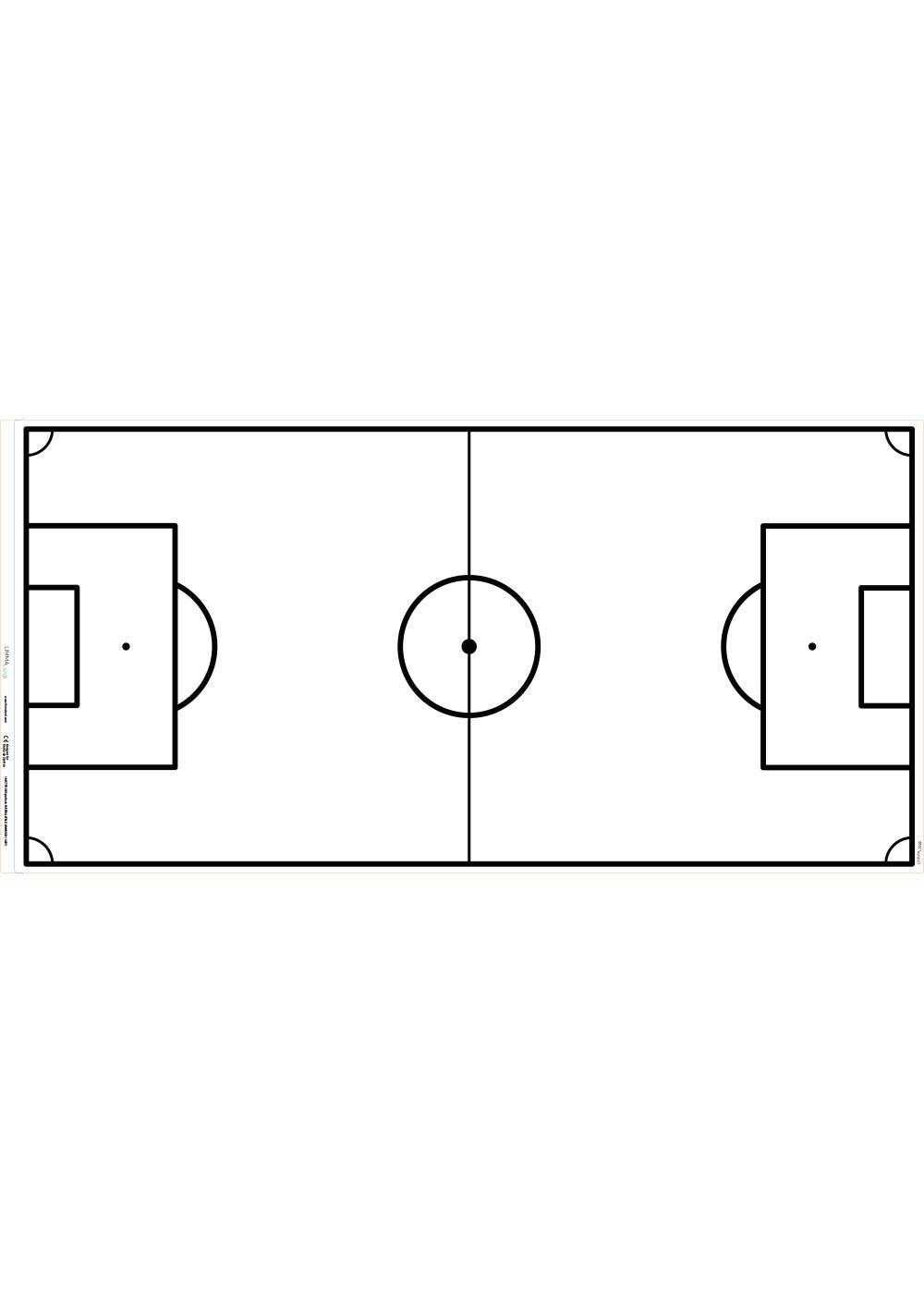 Ikea Dundra Spieltisch Fussballfeld weiss Druckvorlage