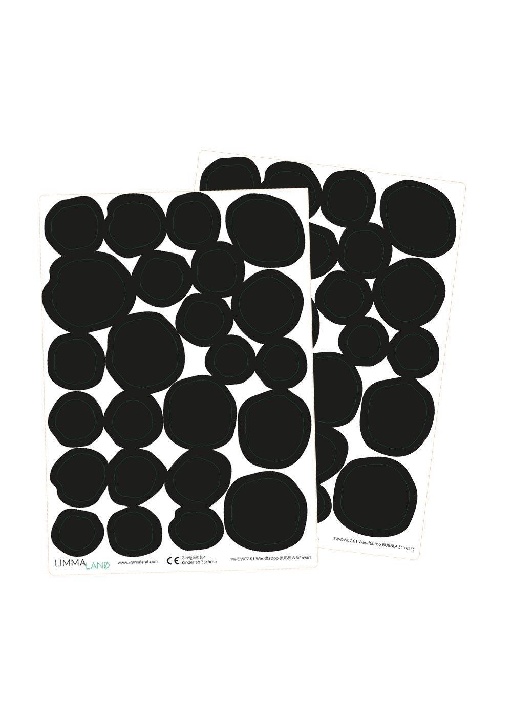 Wandsticker Möbel Steine schwarz Druckvorlage