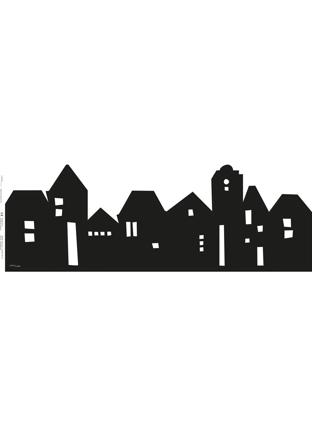 Ikea Mansarp Bilderleiste Lille Hus schwarz Druckvorlage