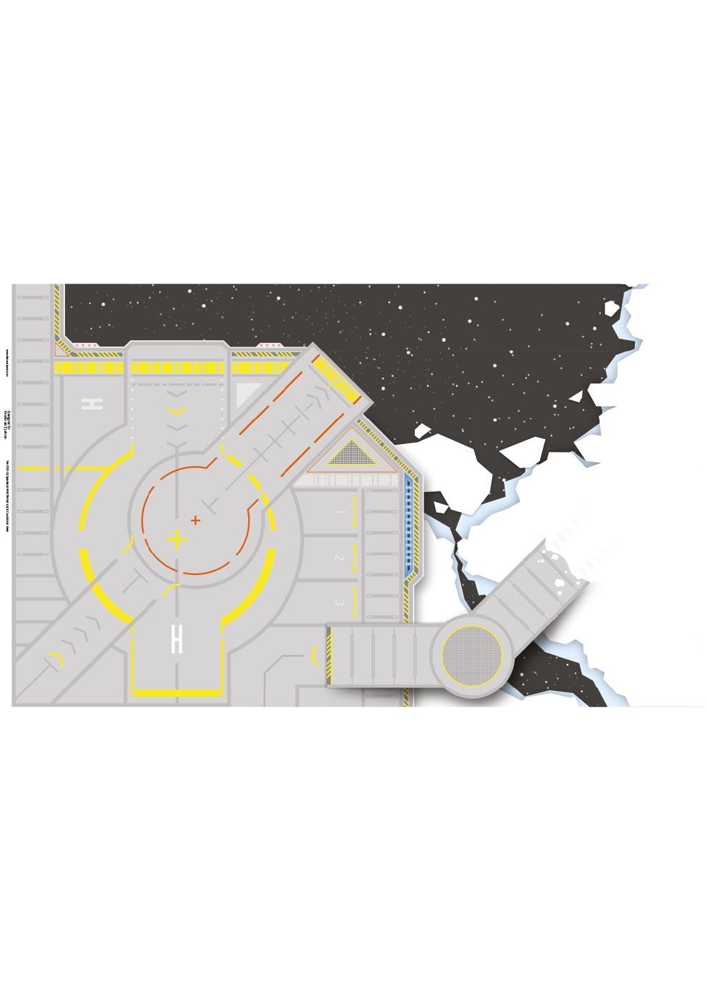 Ikea Lack Couchtisch Weltraum 55x90 Druckvorlage
