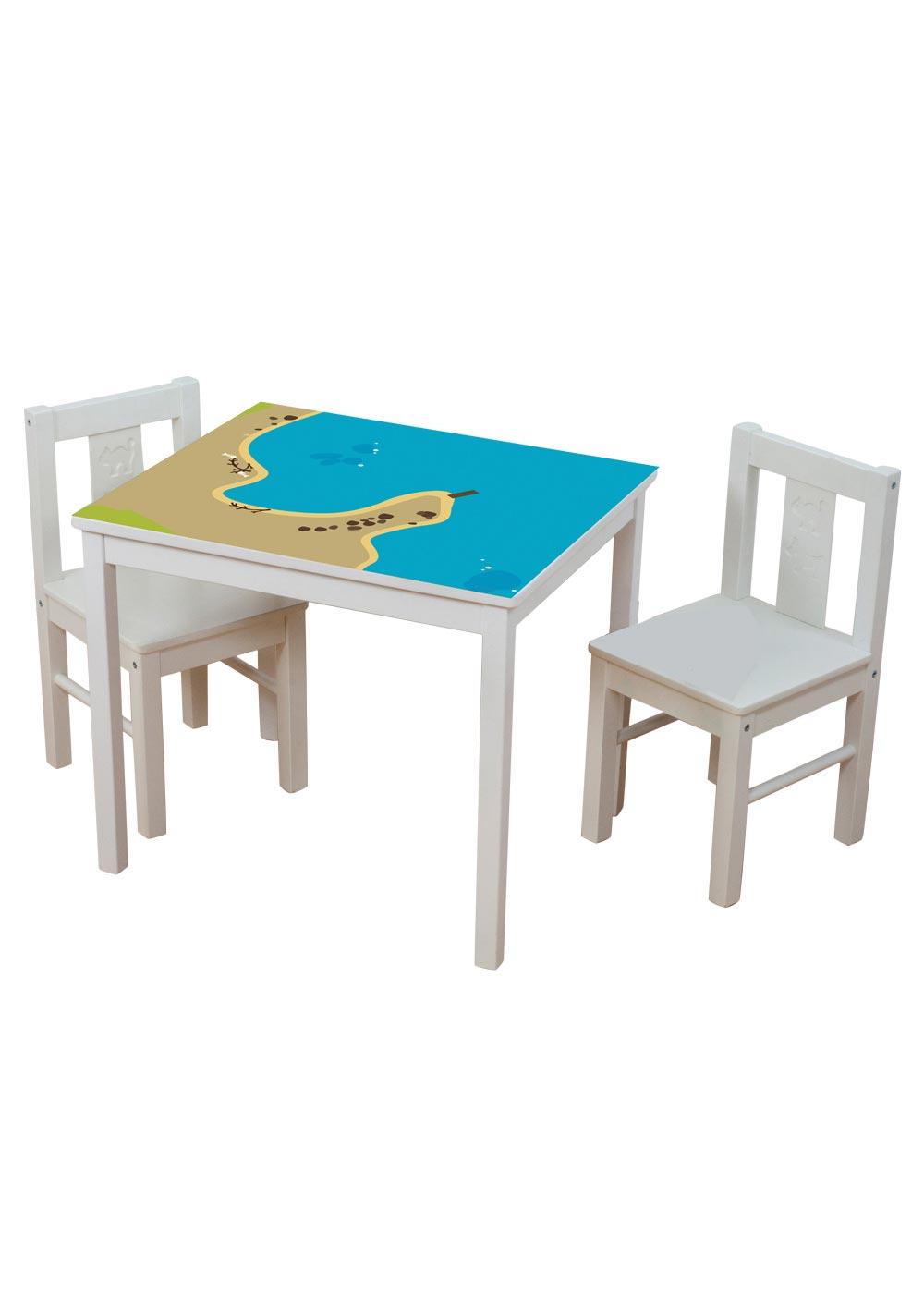 Ikea Kritter Kindertisch Wasserreich Gesamtansicht