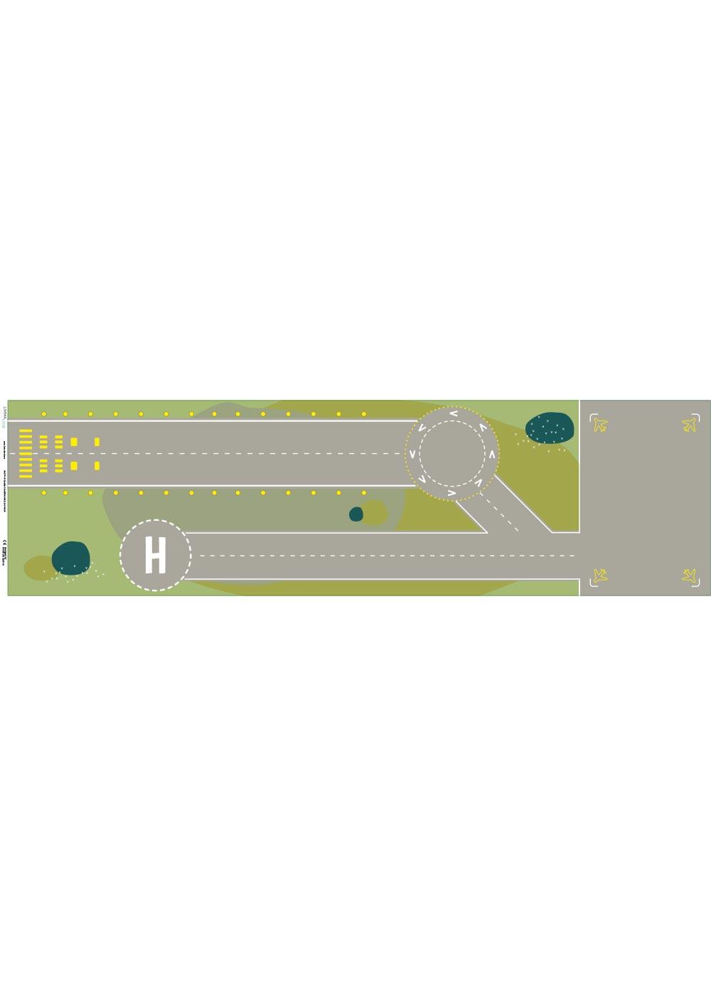 Ikea Kallax Regal Landebahn 4fach Druckvorlage