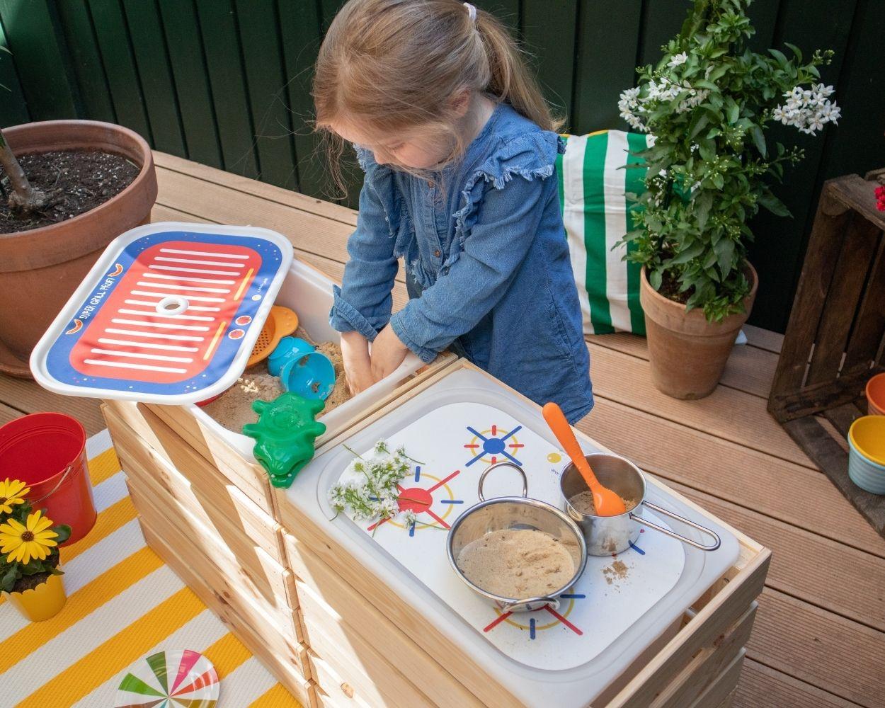 Matschküche für die Terrasse