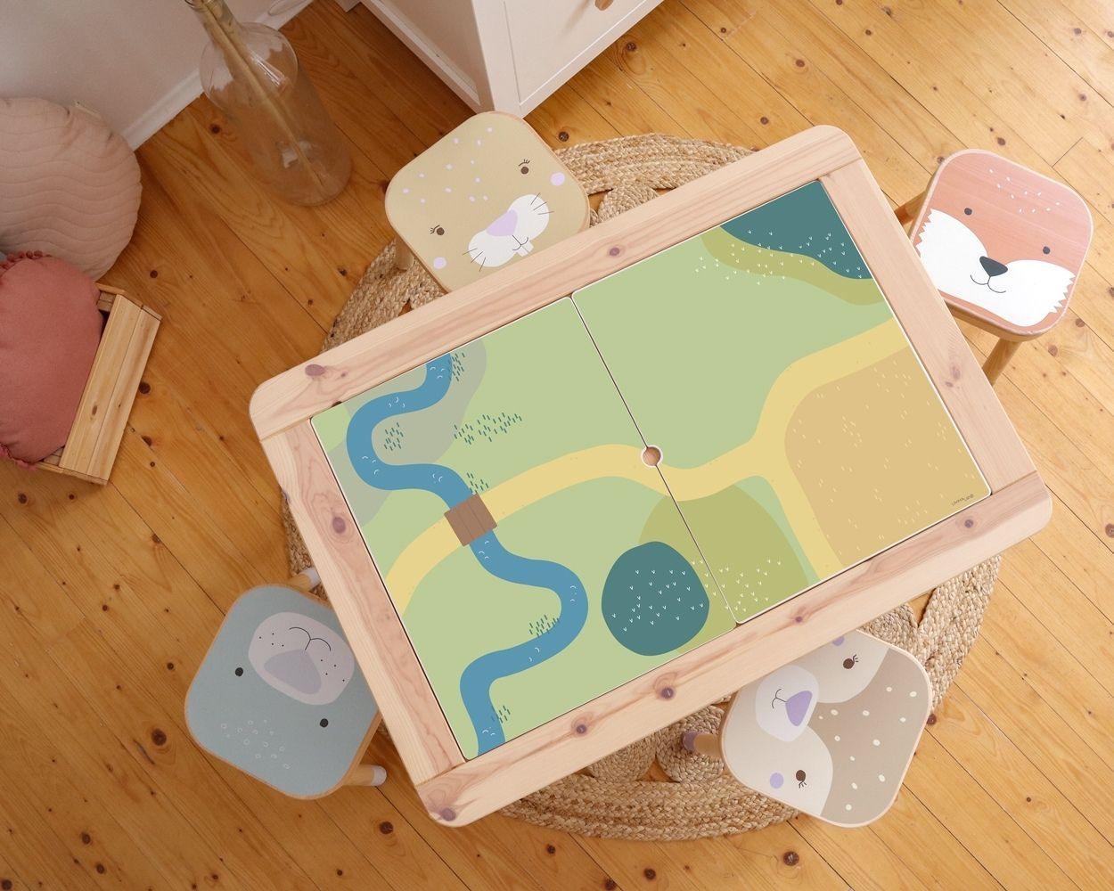 Ikea Flisat Waldtiere und Spielwiese