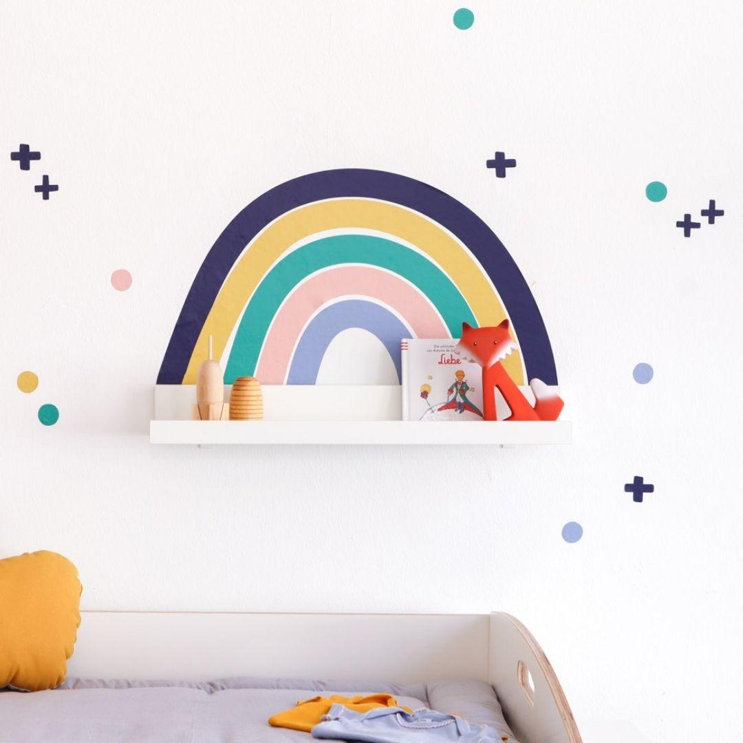 Babyzimmer Junge Regenbogen
