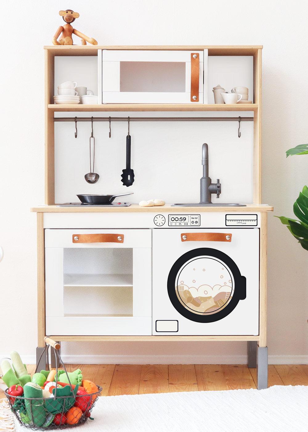 stickerset kinderwaschmaschine saubafix solo 0