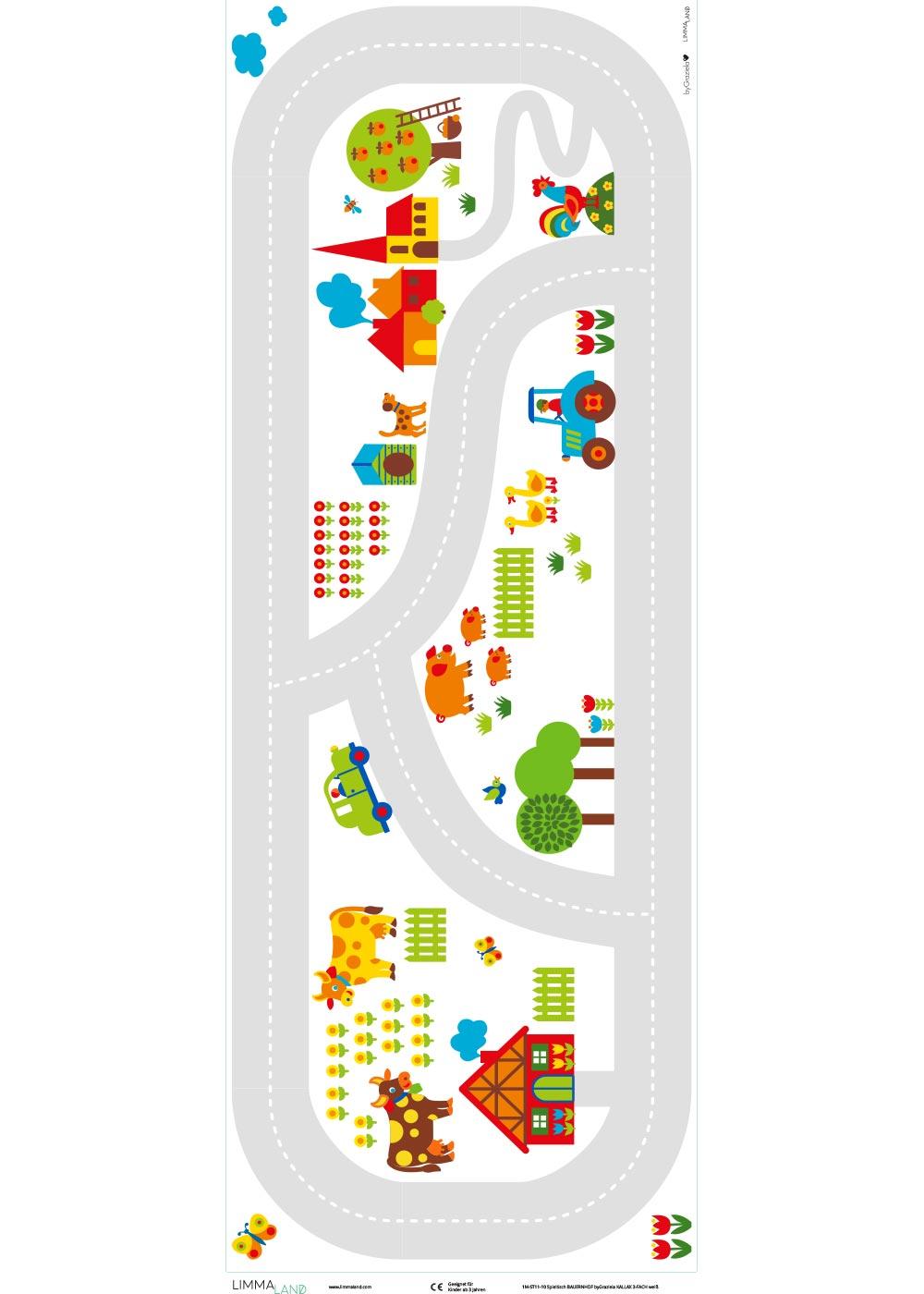 Ikea Kallax Regal ByGraziela Bauernhof 3fach Druckvorlage