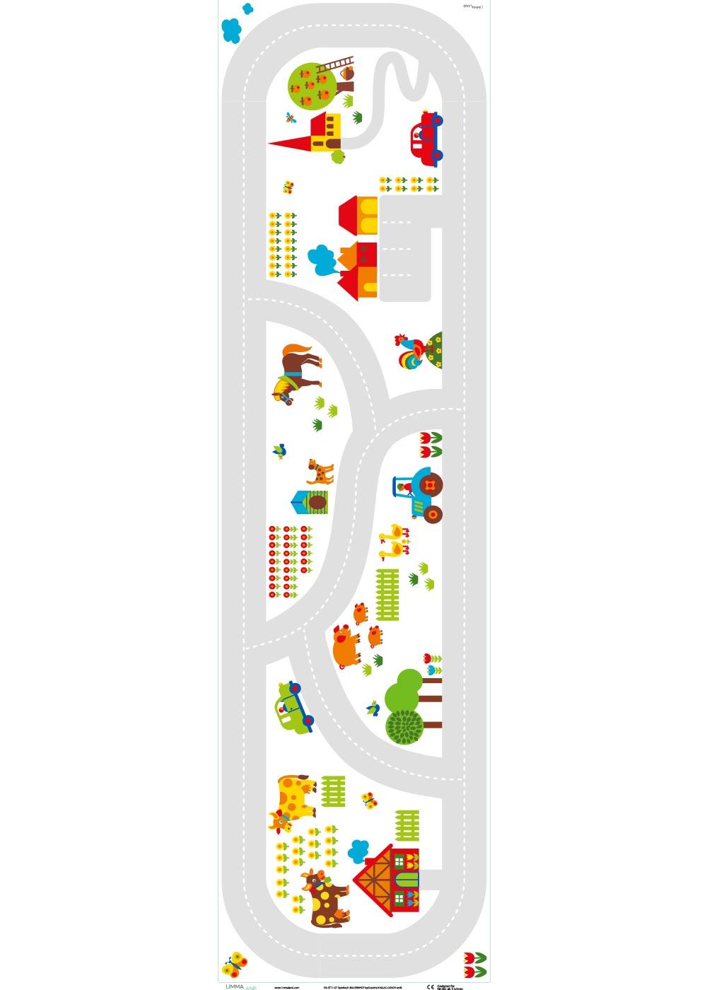 Ikea Kallax Regal ByGraziela Bauernhof 4fach Druckvorlage