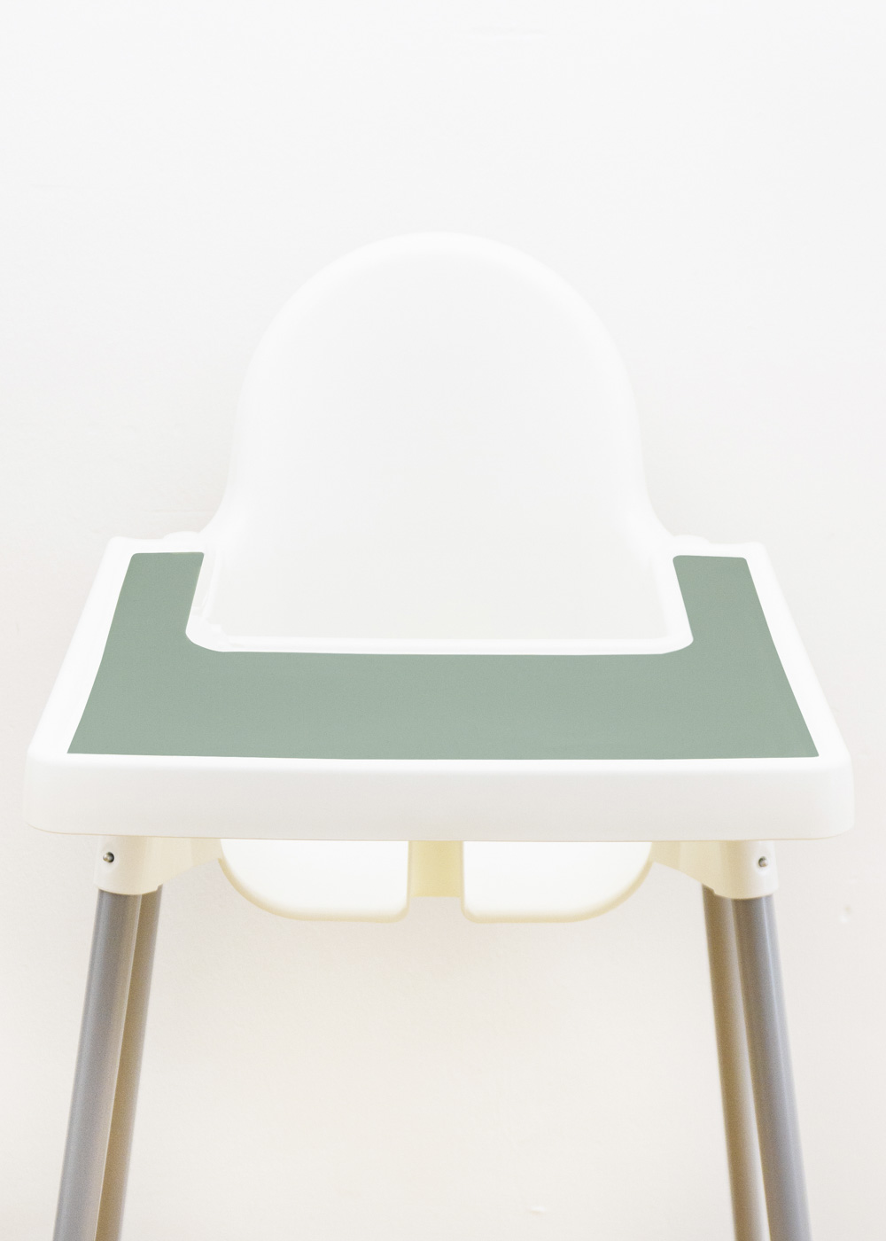 Silikonmatte Ikea Antilop Hochstuhl Klecka Mat eukalyptus